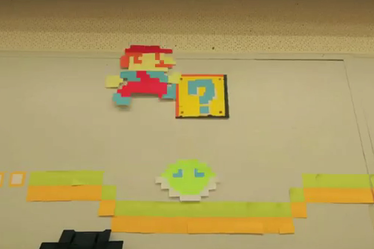 Watch this: stop-motion \'Super Mario\' video made with thousands of ...