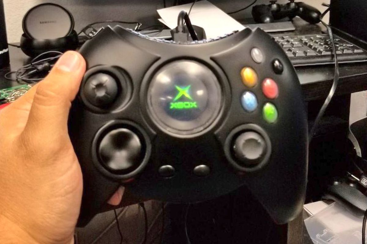the duke xbox s biggest controller of all time will be in stores