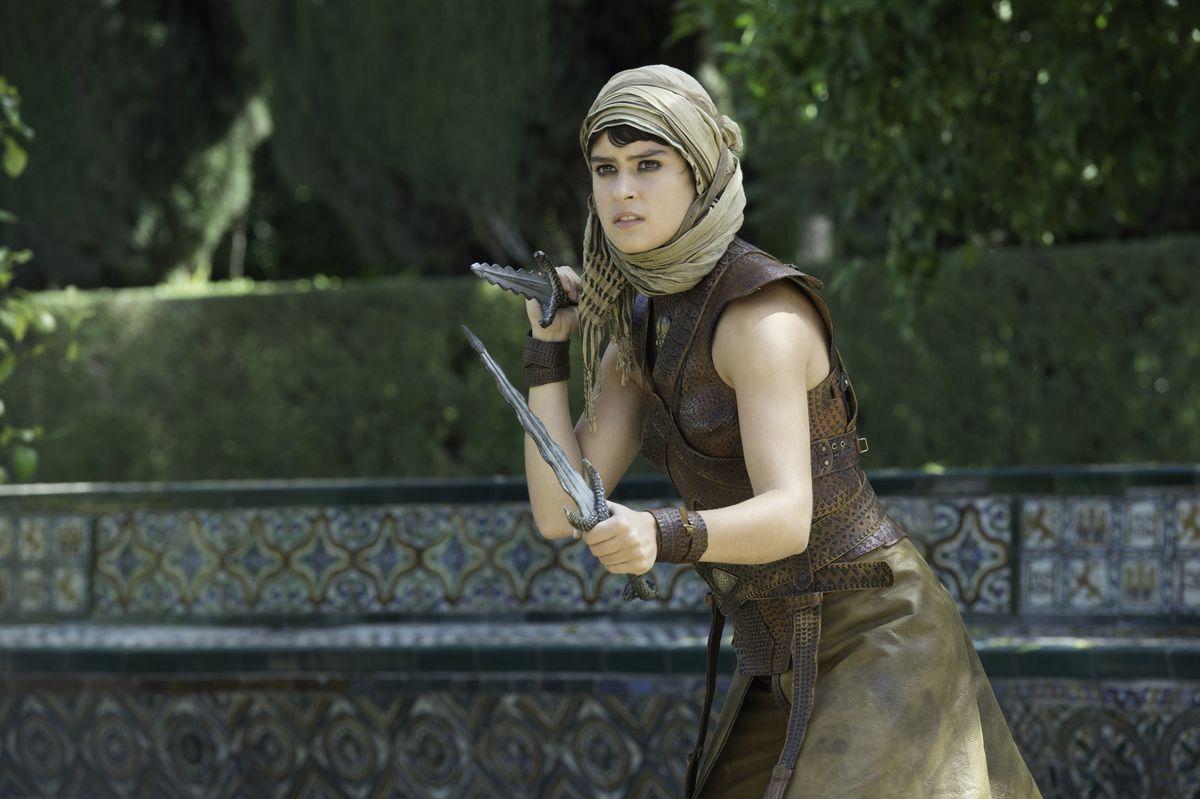 Tyene Sand and her poisoned daggers.