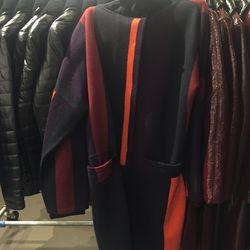 Sweater coat, $215