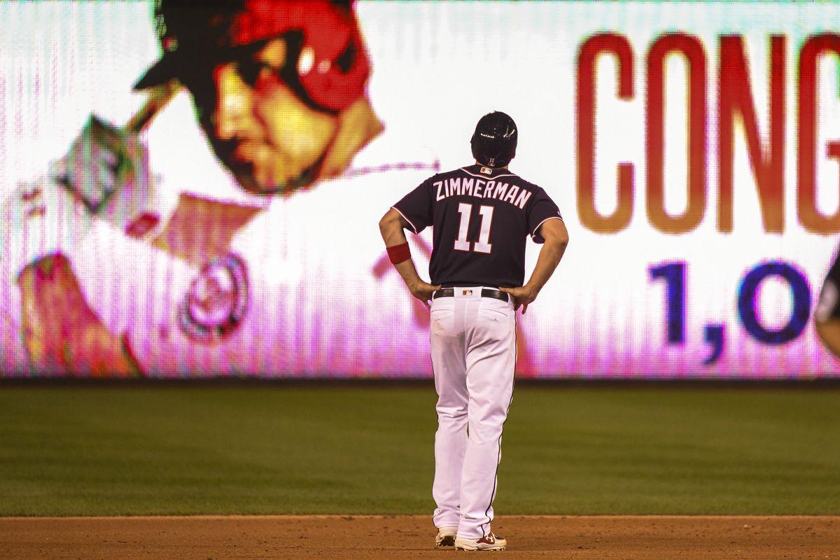 Washington Nationals Ryan Zimmerman Collects 1 000th Career