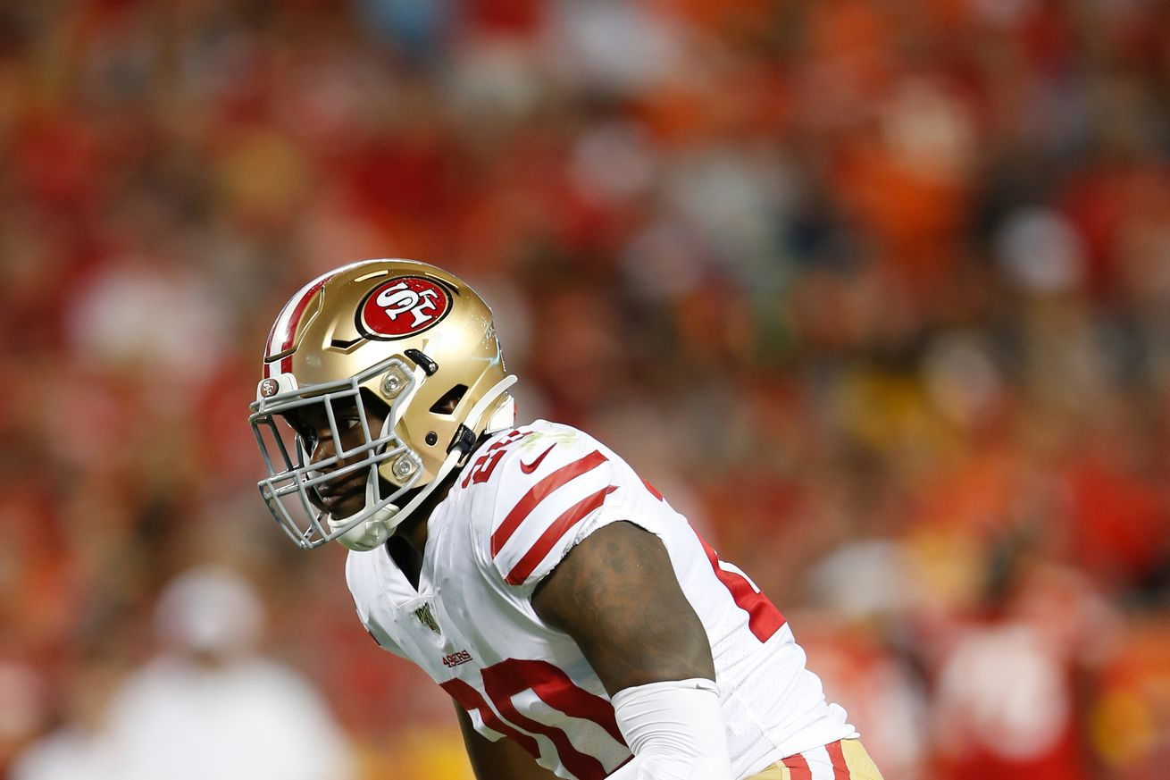 What do the 49ers do with Jimmie Ward now that he's healthy?