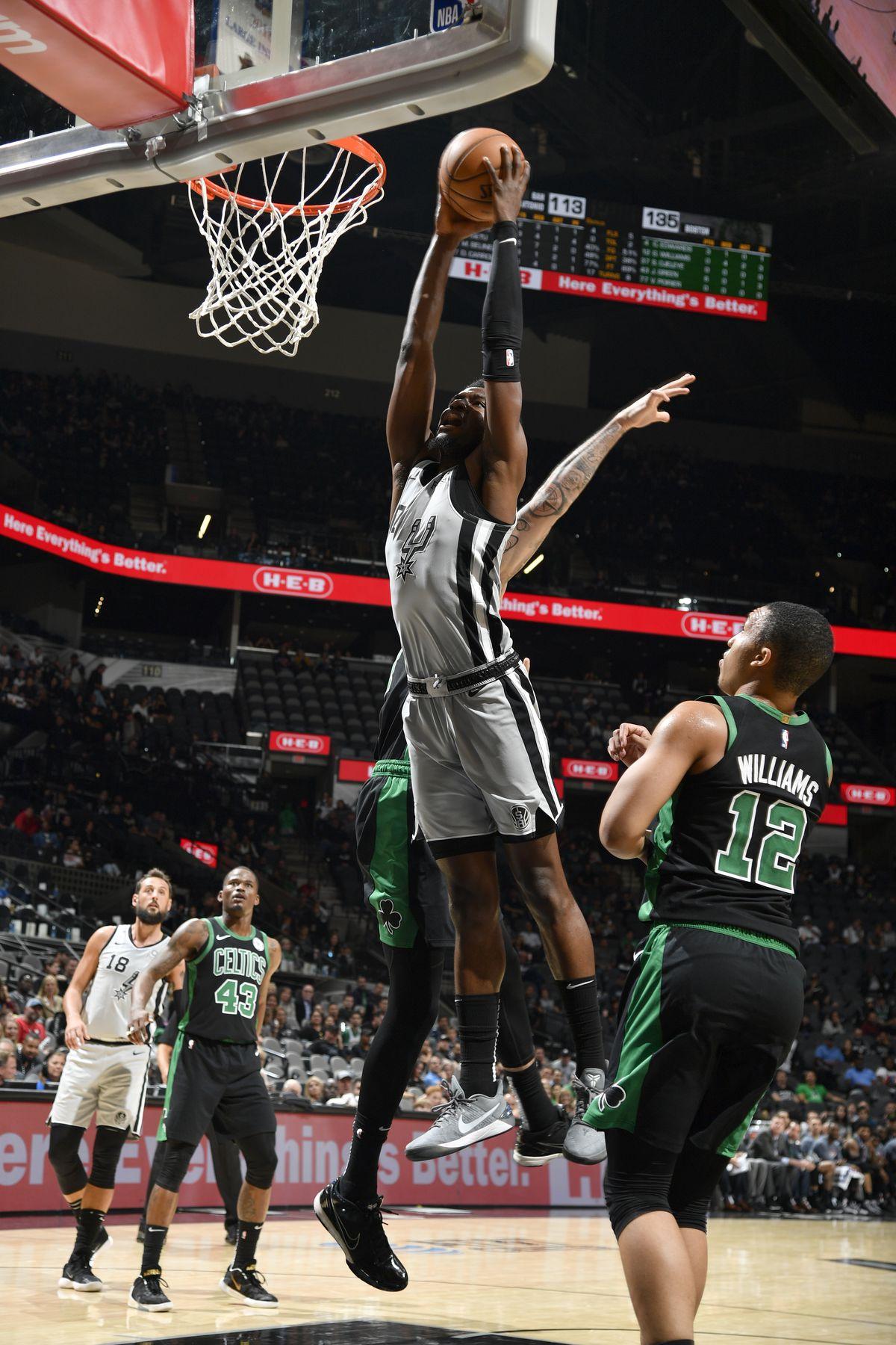 Boston Celtics v San Antonio Spurss