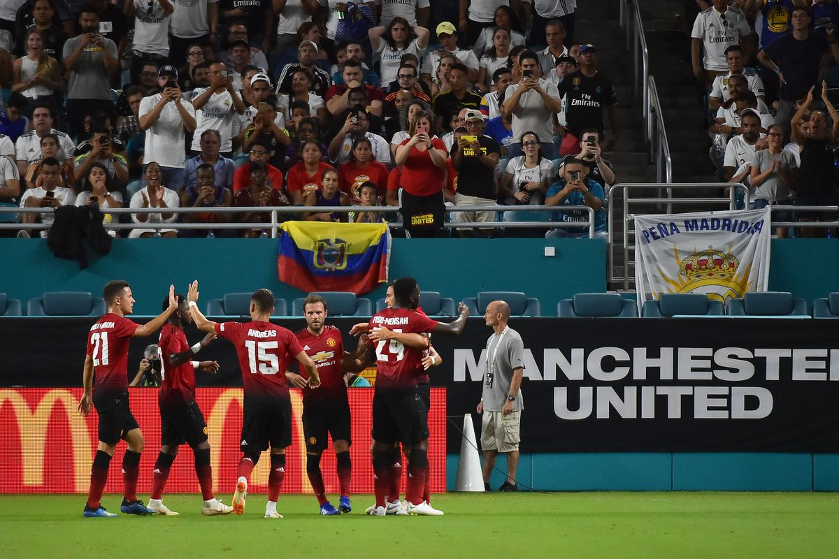 Soccer: International Champions Cup-Manchester United at Real Madrid