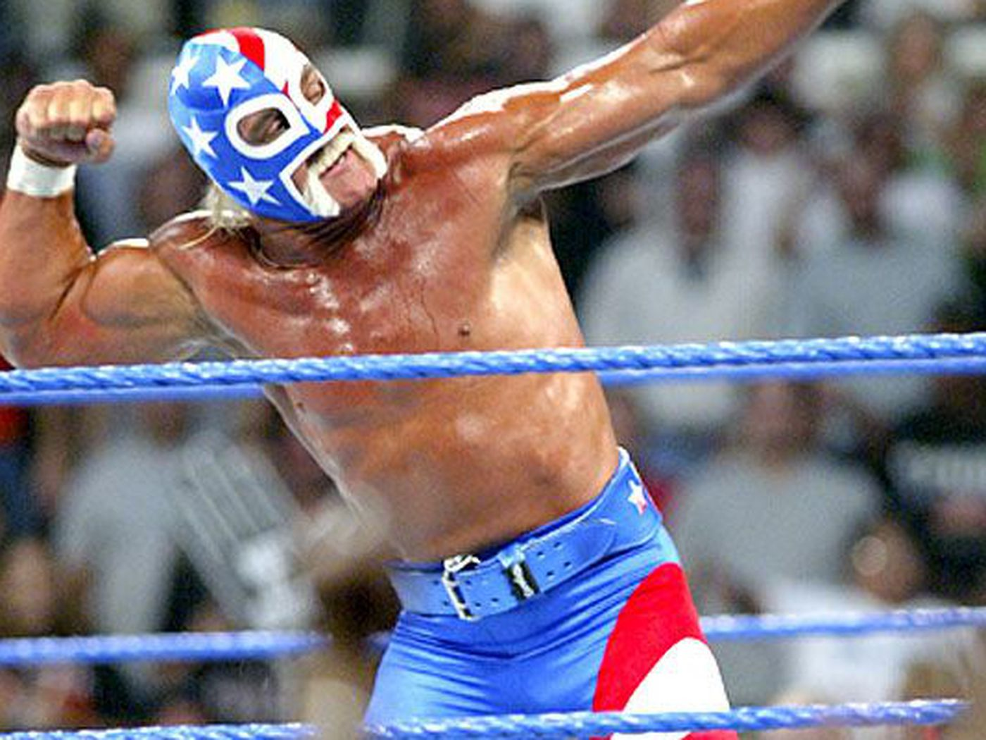On this date in WWE history: Mr. America takes a lie detector test on  Smackdown - Cageside Seats