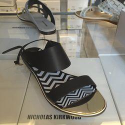 Zigzag sandals, $148.50 (originally $495)