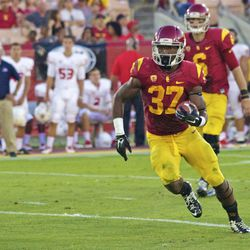 Buck Allen ran for 133 yards and one touchdown.
