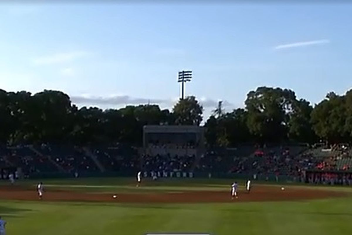 It's time for one last game in the series at Stanford's Sunken Diamond, one of the most scenic ball parks in the Pac-12.