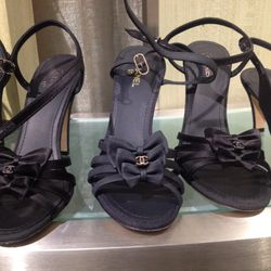 There were about a dozen Chanel styles—this is the style with the most pairs available. $390 (from $975)
