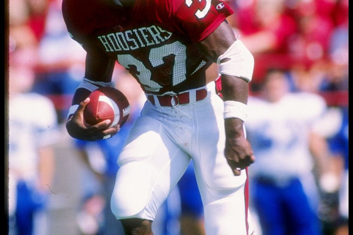 Anthony Thompson,  the greatest football Hoosier.