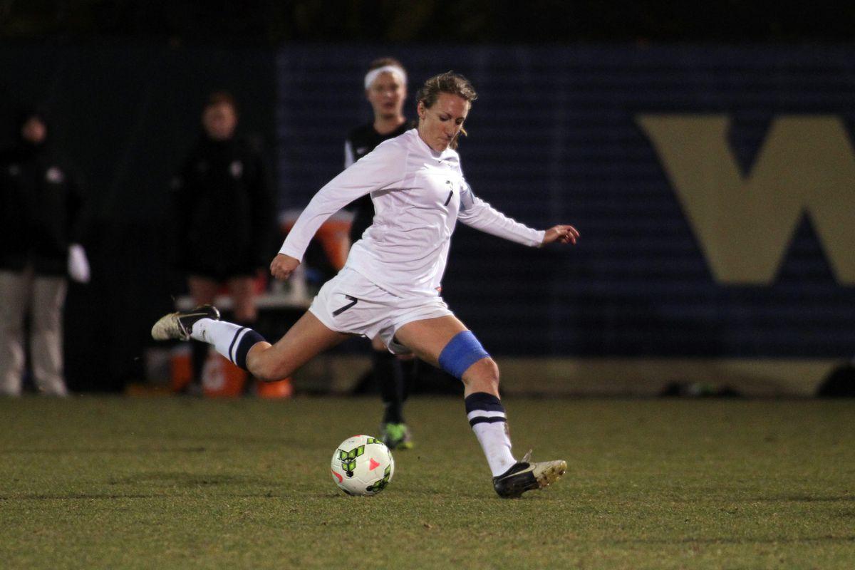Marquette women's soccer defender Morgan Proffitt