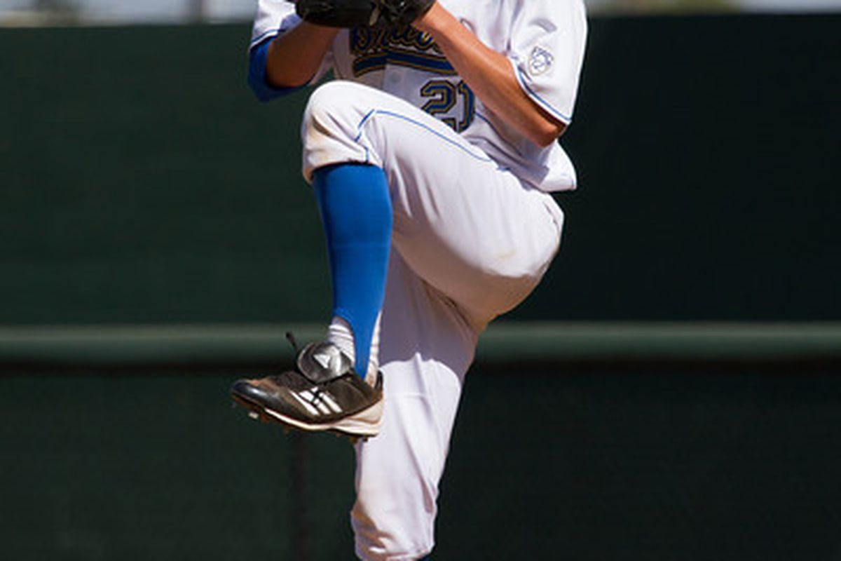 """Nick Vander Tuig carried a no-hitter into the eighth inning on Saturday (Photo Credit: <a href=""""http://www.scottwuphotography.com/"""" target=""""new"""">Scott Wu</a>)"""