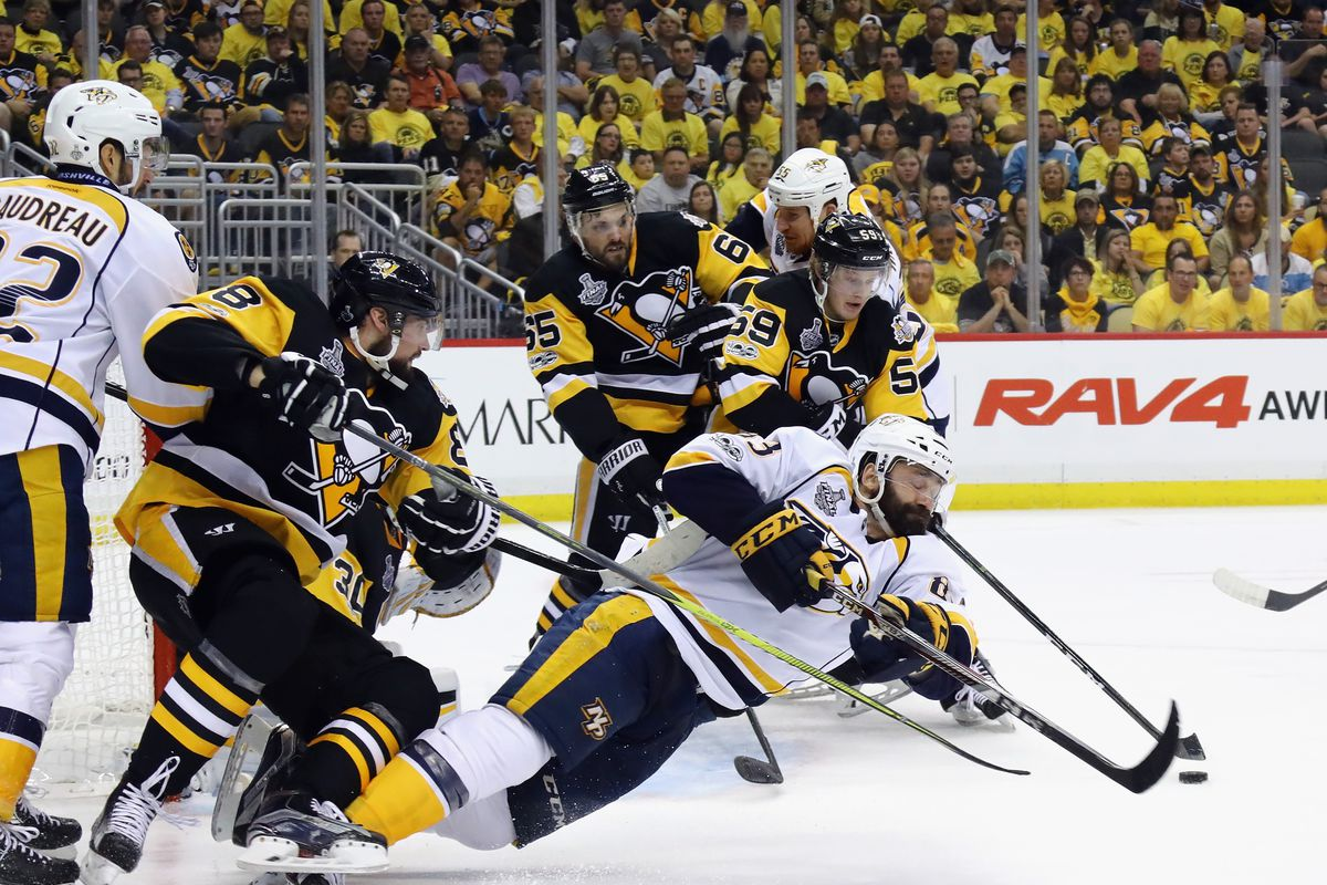 Penguins take two-game lead over Predators in Stanley Cup Final