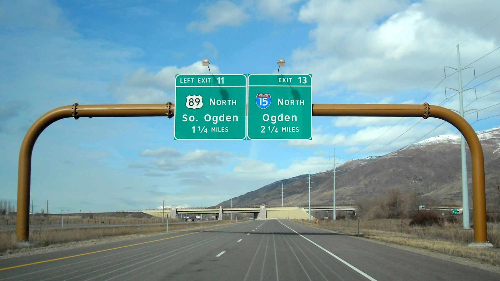 Highway signs