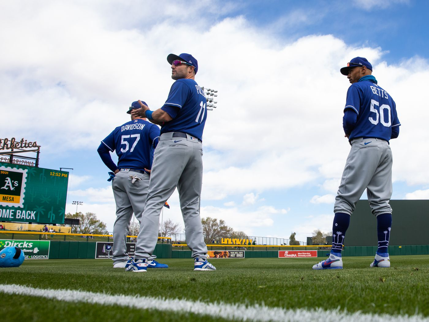 Dodgers spring training: Position players playing time trends and ...