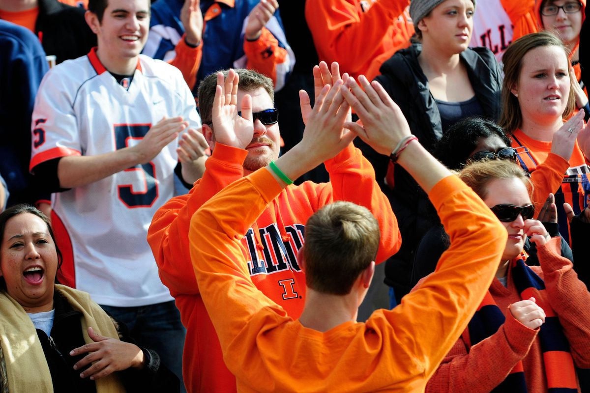 """""""We're losing to Indiana, bro! High five!"""""""