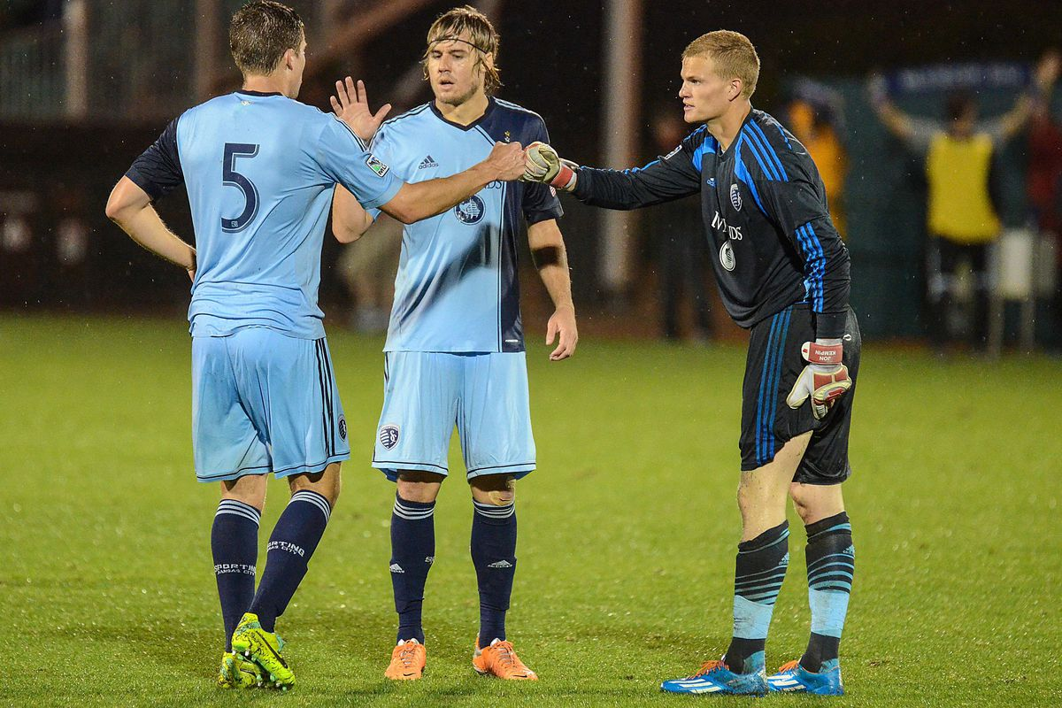 SKC and OKC keeper Jon Kempin has been called up to the U.S. U21 team