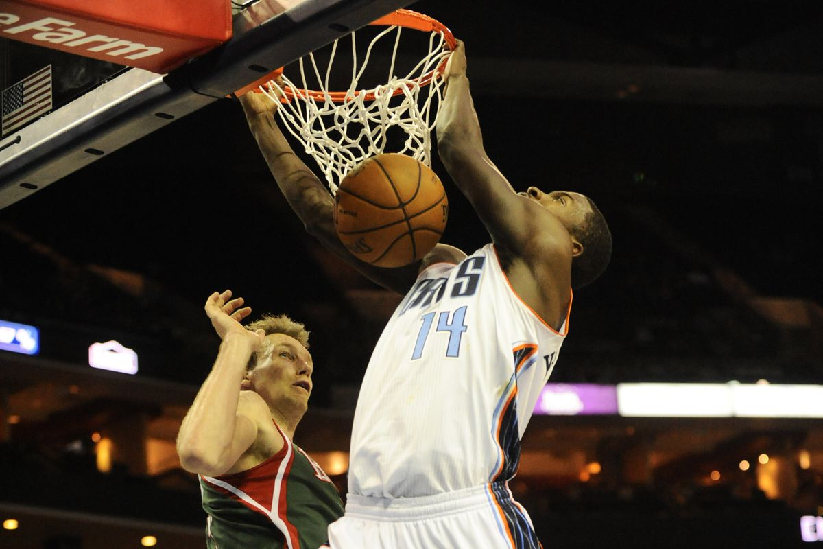 No photos from the Bobcats-Raptors game were available as of posting time