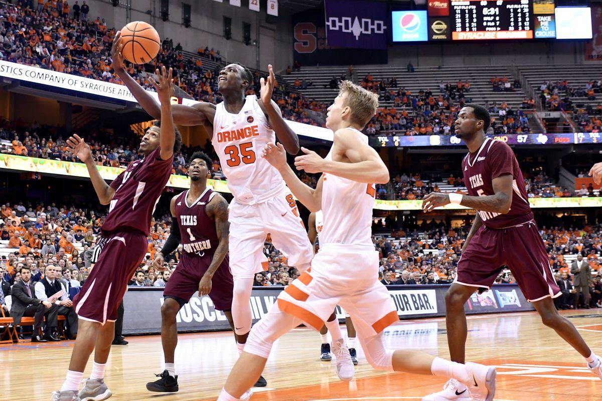 NCAA Basketball: Texas Southern at Syracuse