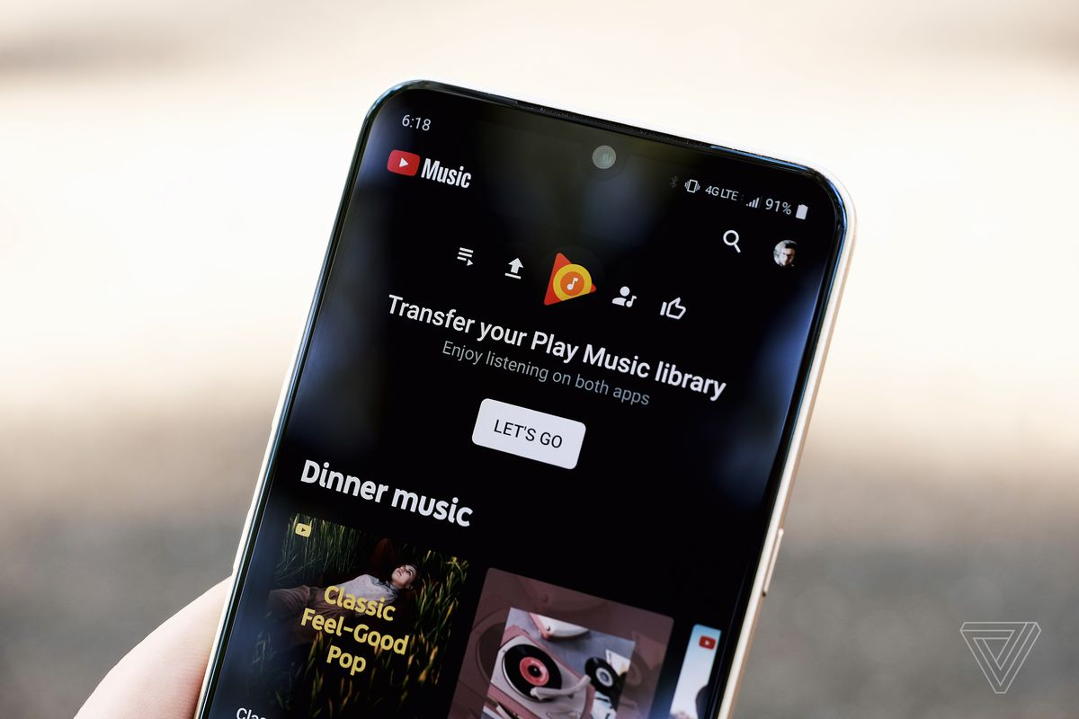 Google Play Music Will Begin Shutting Down In September The Verge