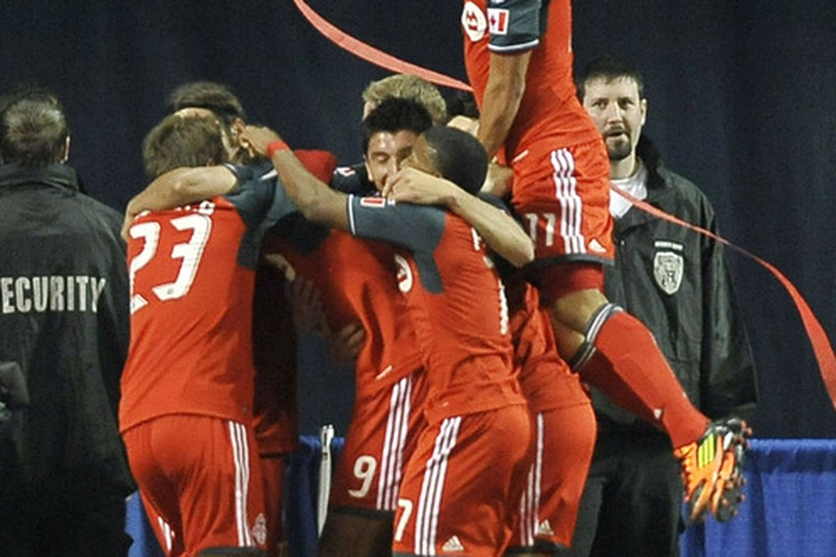 The boys are excited to be back in MLS action.