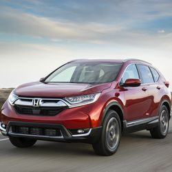 2017 CR-V Earns TOP SAFETY PICK+ Rating from IIHS