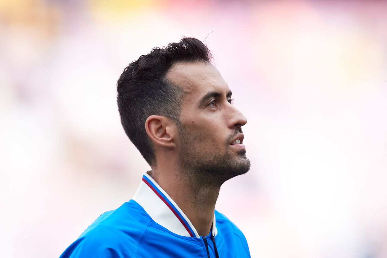 Sergio Busquets ?excited? for FC Barcelona to face Bayern Munich in Champions League