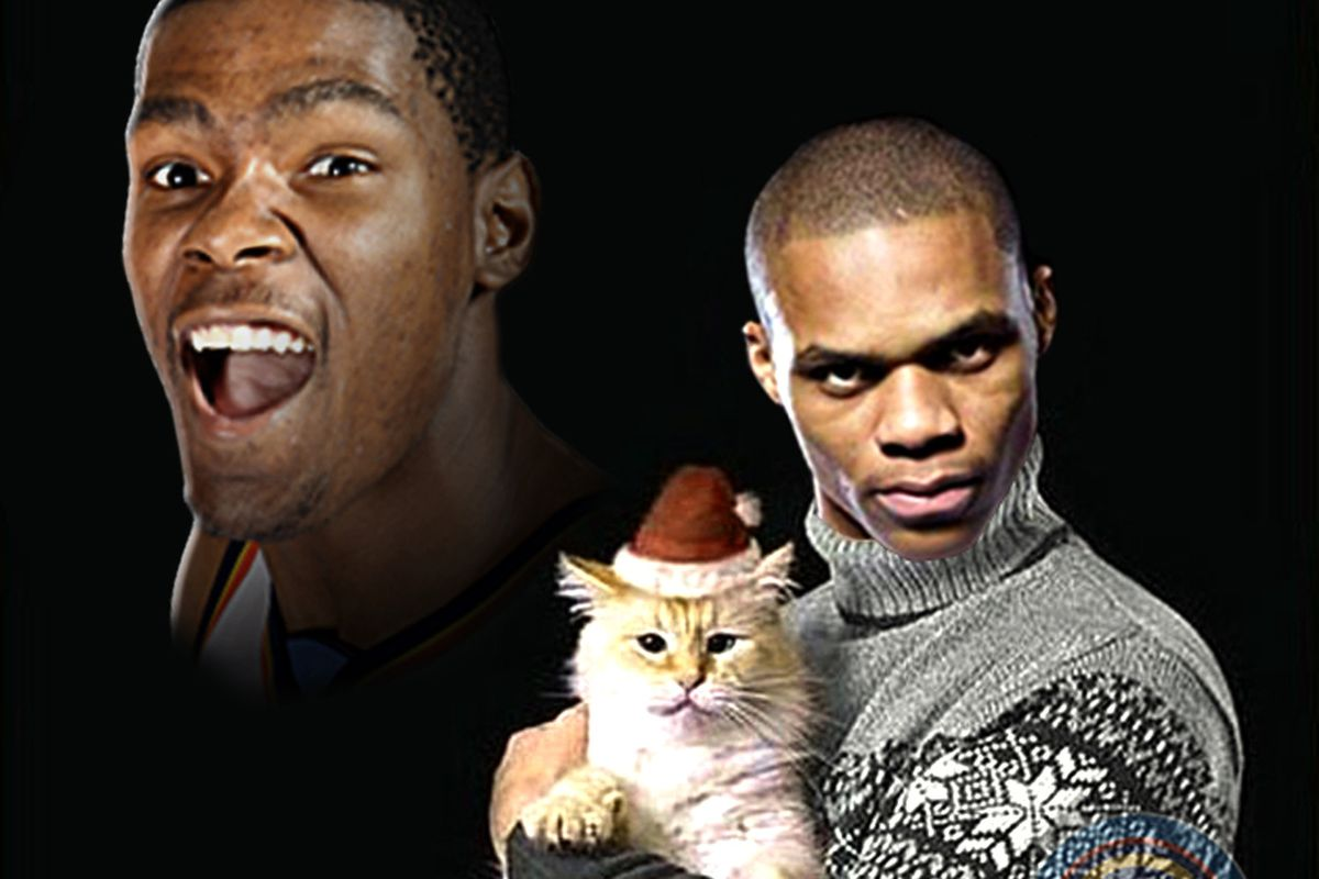 The craziest thing is that I could realistically see Westbrook posing for this picture.