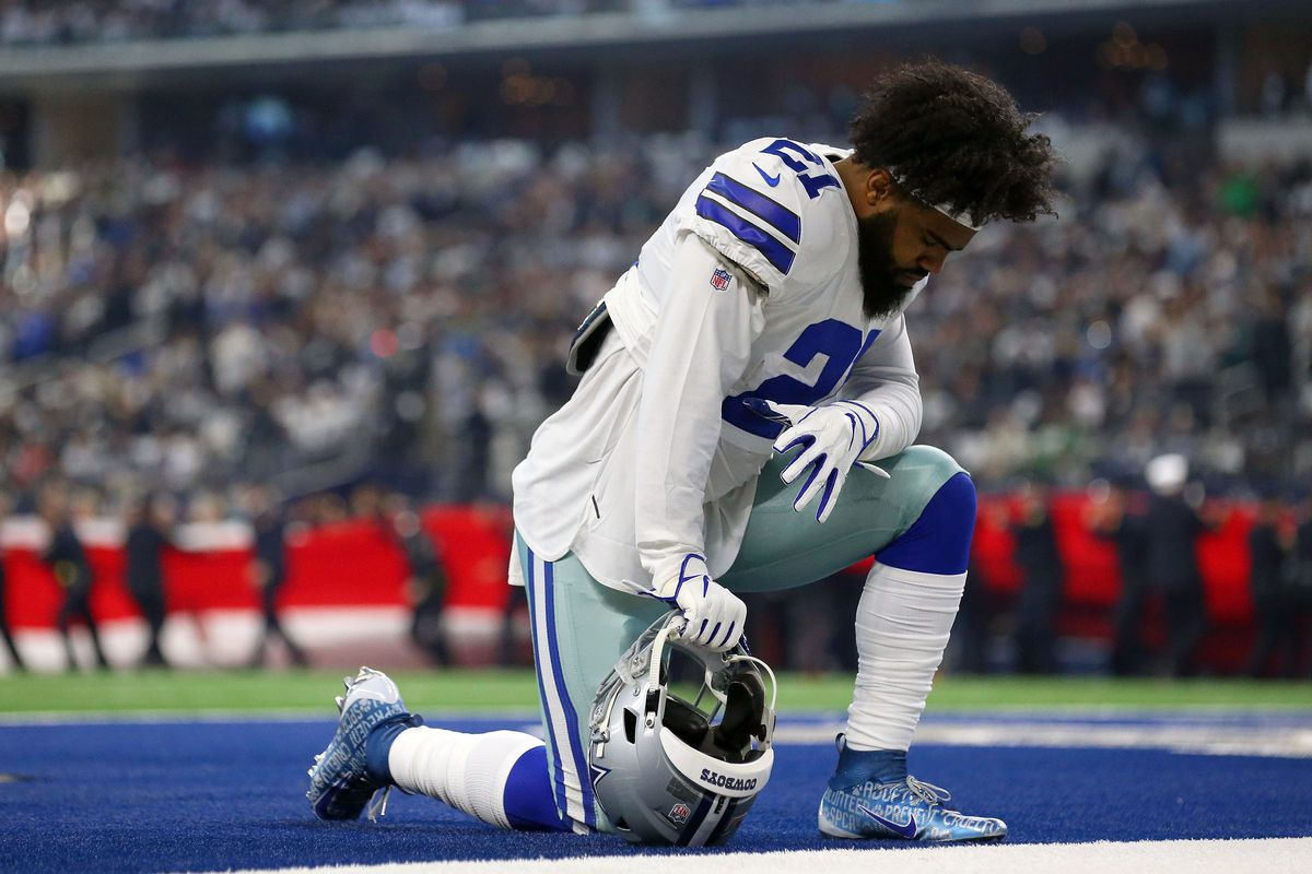 Ezekiel Elliott has reportedly said that he will hold out of Cowboys training camp unless he gets a new contr…