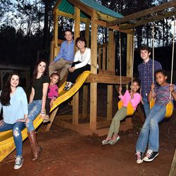 The DeGarmo family — John and Kelly, Brailey, Brody, Gracie, Jace, Kolby and Cassie, are pictured Feb. 28.