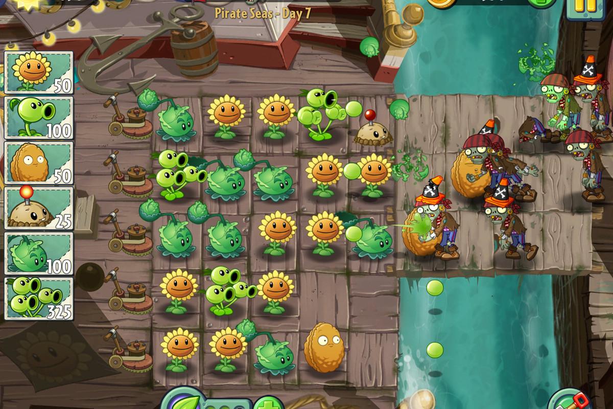 plants vs zombies 2 images