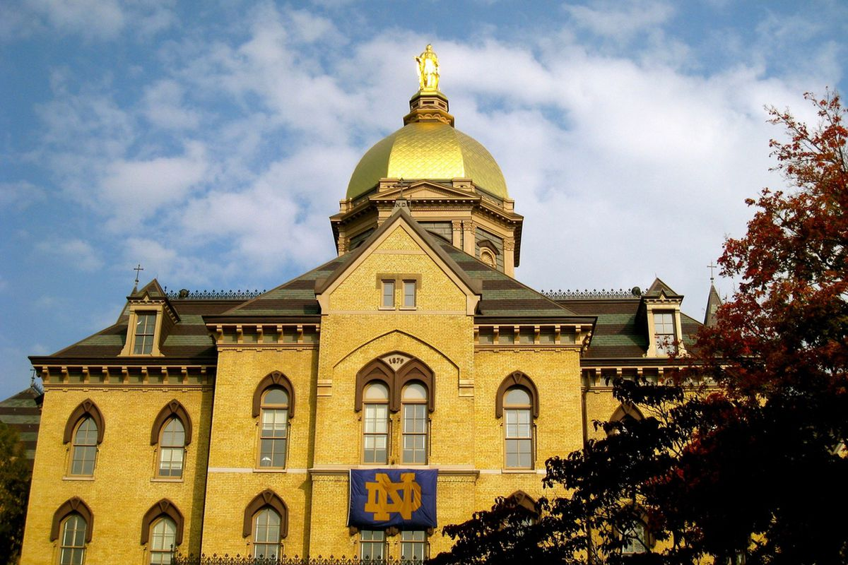 Cheer, cheer for old Notre Dame soccer, hockey, tennis...you get the picture.