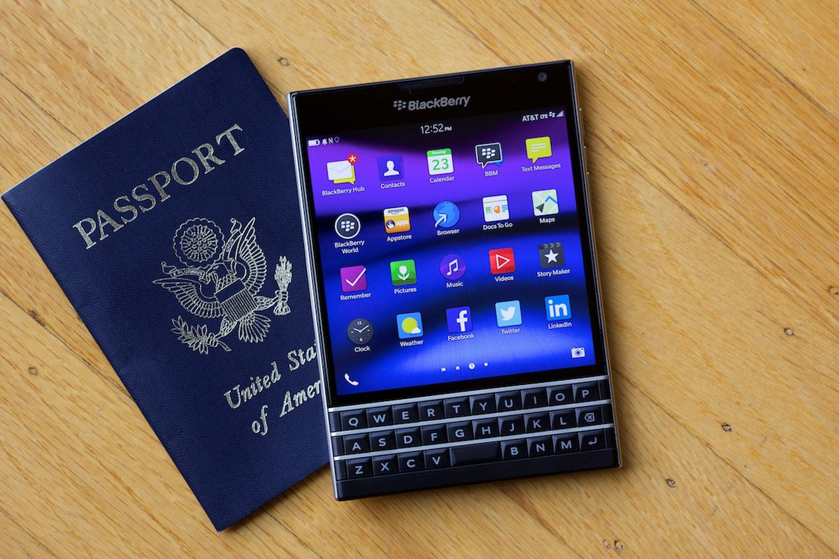 A Phone Only A Blackberry User Will Love Recode