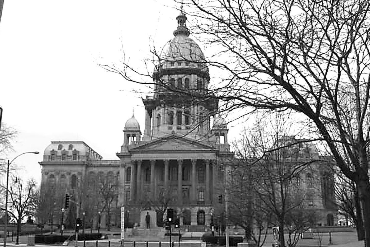 The State Capitol Building in Springfield