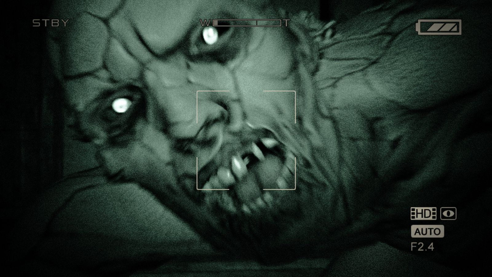 outlast   stealth horror game designed    player suffer polygon