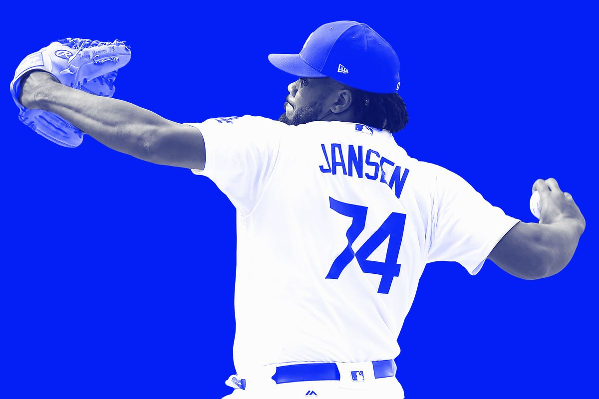 best website 6f658 33ee8 Kenley Jansen Is Painting His Way to the Record Books - The ...