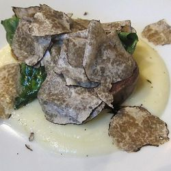 Heirloom potatoes with truffles at Le Comptoir by sherwin.goo