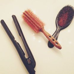 My everyday tools include this brush set and flatiron. Perfect hair day starts here!