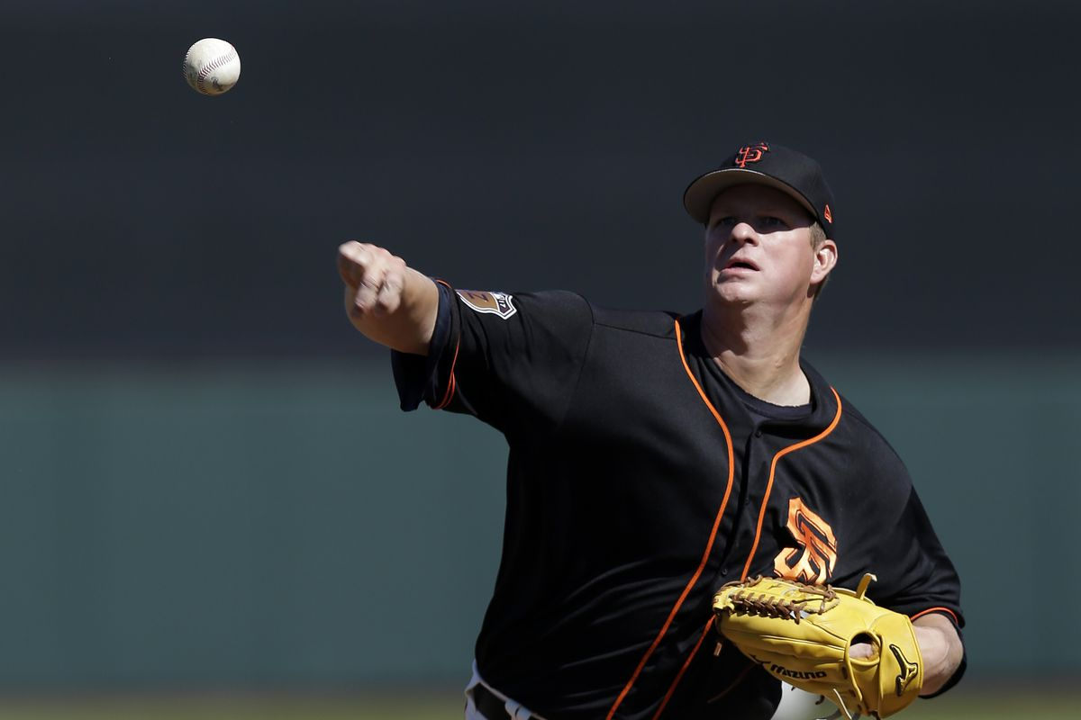MLB: Spring Training-Chicago Cubs at San Francisco Giants