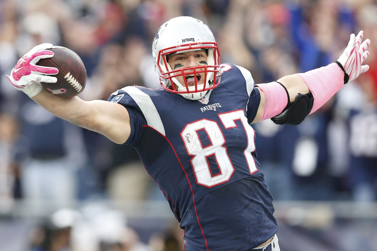Sunday could be a Gronk kind of game.