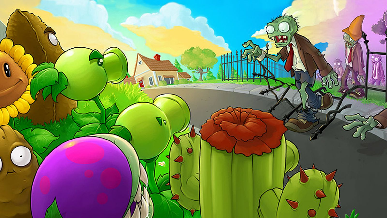 Стрим растения против зомби картинки