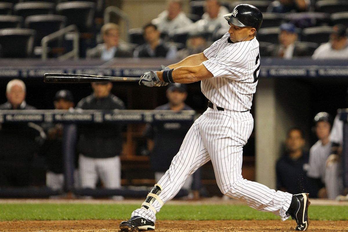 Raul Ibanez has a 125 wRC+ and a .253 ISO after last night's two-homer game.