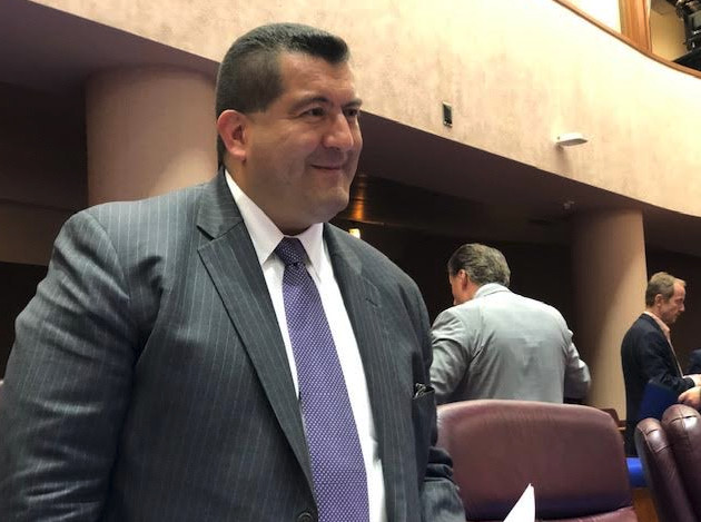 Martin Cabrera Jr. at his final Chicago Plan Commission meeting July 18. 2019.