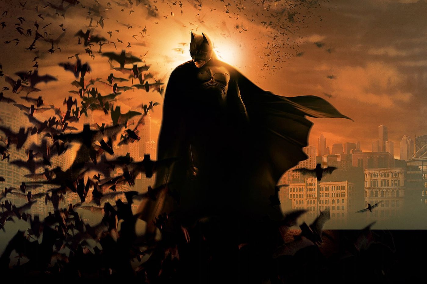 Ten years ago, Batman Begins kicked off Hollywood's gritty