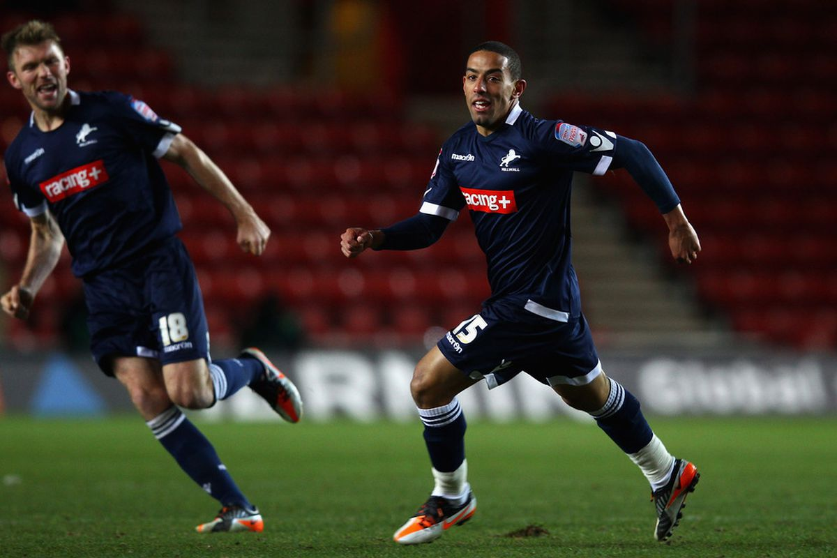 This is what A Millwall player looks like.  Thanks Getty.