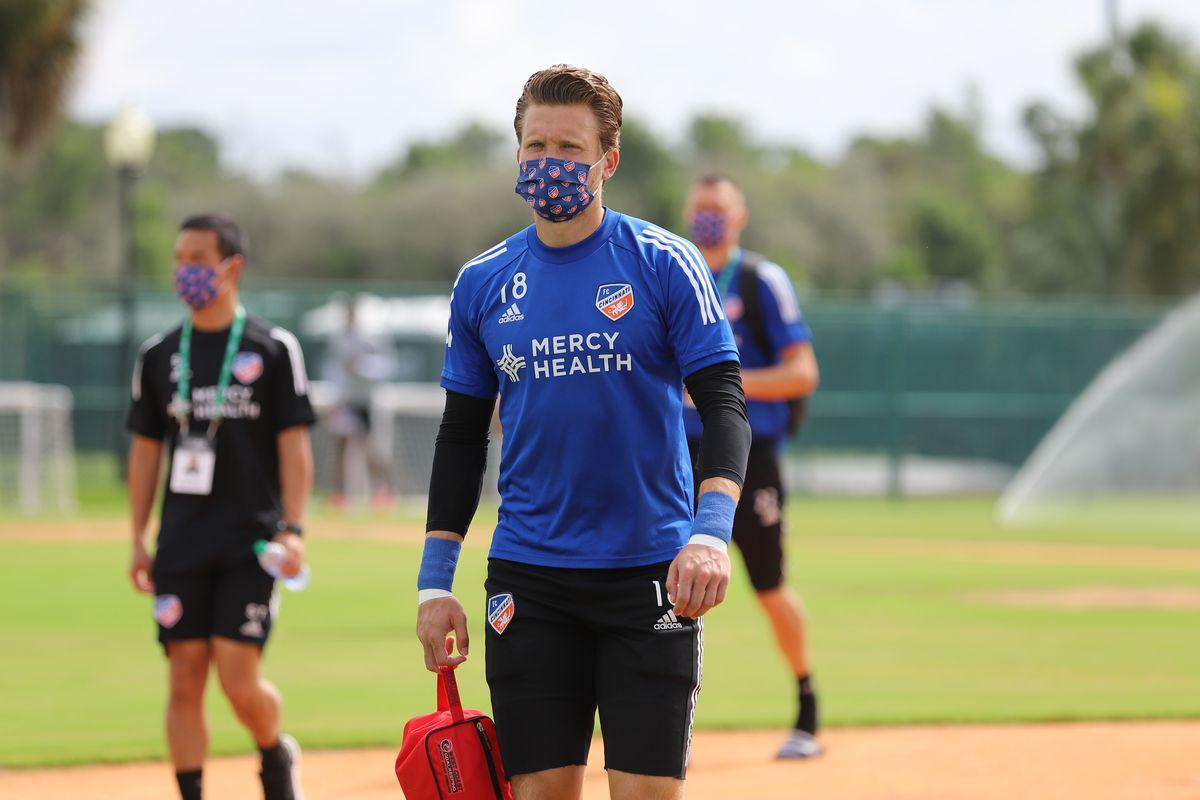 MLS: FC Cincinnati Training