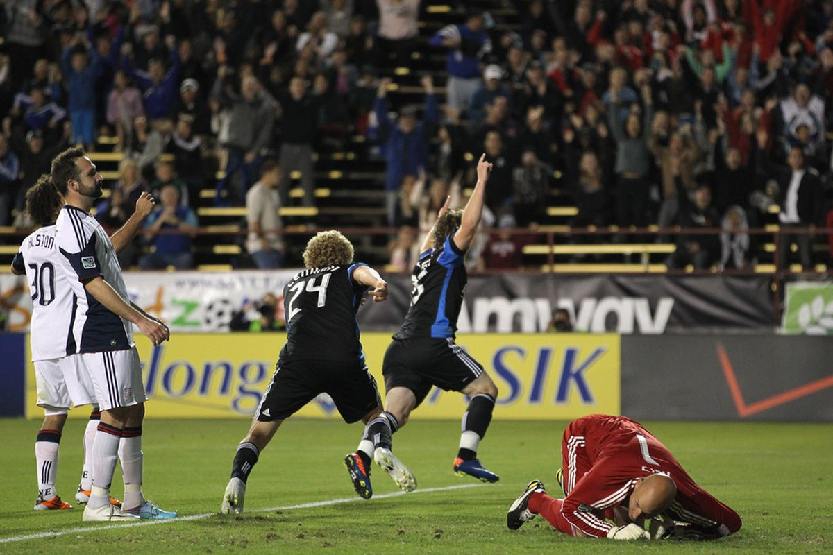 Ellis McLoughlin will hope to make it two games in a row with a goal as he starts for the Earthquakes against the Fire Tuesday night in U.S. Open Cup qualifying
