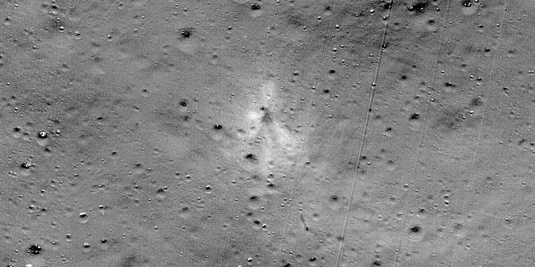 NASA spacecraft finds crash site of Indian lunar lander