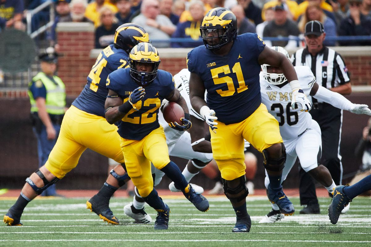 2020 NFL Draft prospect profile: Cesar Ruiz, C, Michigan - Big ...