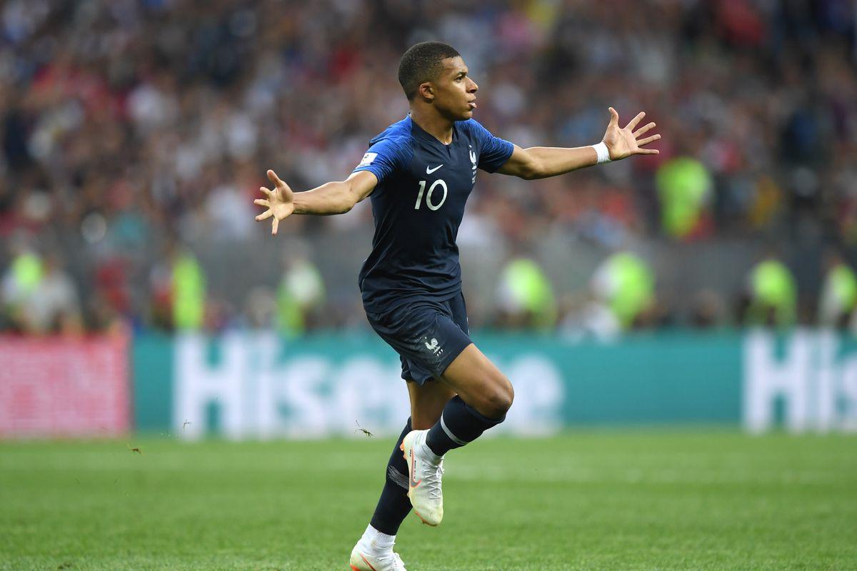 premium selection 49dfd d8db9 France vs. Croatia: The World Cup belonged to Kylian Mbappé ...